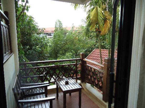 Angkor Palace Resort & Spa : balcony of mour room