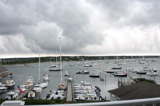 Harborside Inn: View as the storm came in
