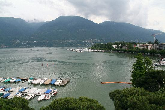 Hotel Geranio au Lac : view from the room