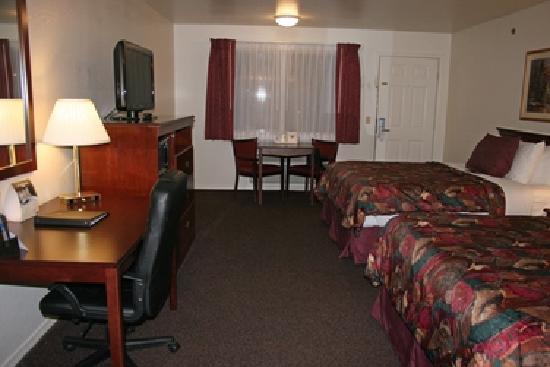 BEST WESTERN Arcata Inn: Zimmer (Standard mit Queenbetten)