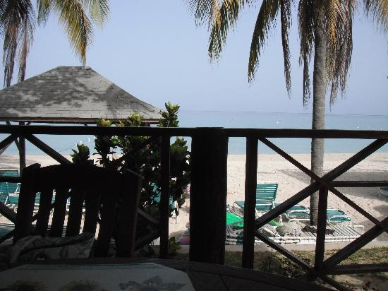 White Sands Negril: View from the restaurant... it doesnt get much better that this