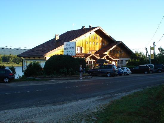 Hotel de l'Abbaye: côté rue