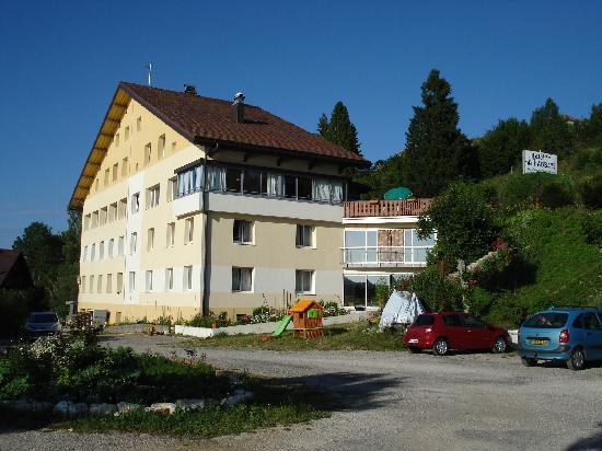 Hotel de l'Abbaye: côté lac