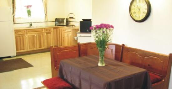 Parkside Place Guest House: Kitchenette