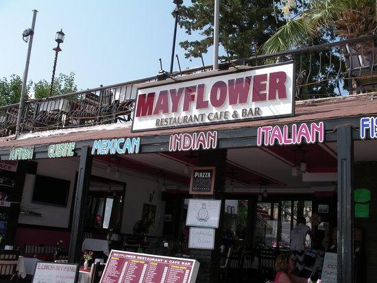 May Flower Restaurant : Mayflower Restaurant on Bitez Beach