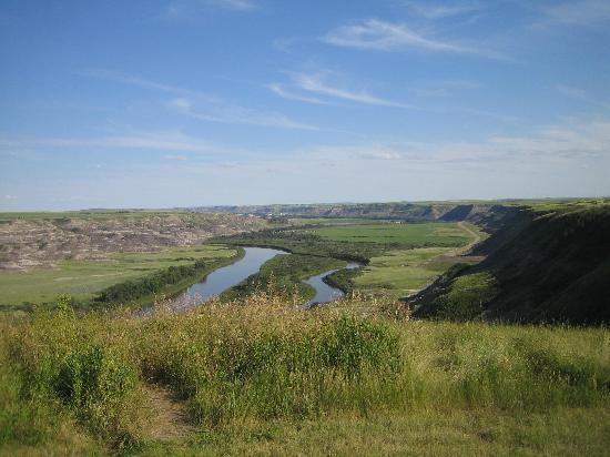 Drumheller, Canadá: Great views