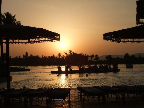 Jolie Ville Hotel & Spa - Kings Island, Luxor: How I miss those Sunsets