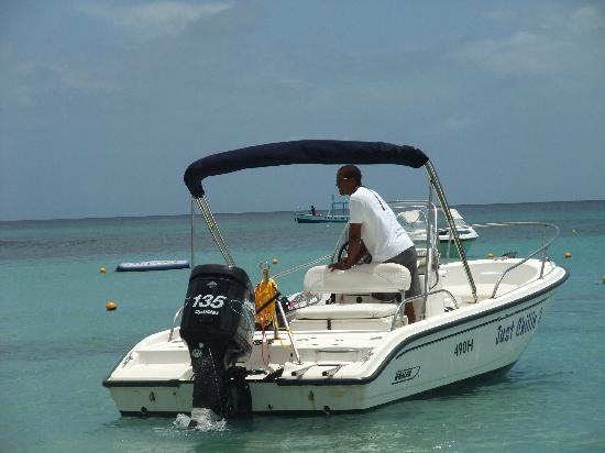 St. James, Barbados: Perfect Ski Boat