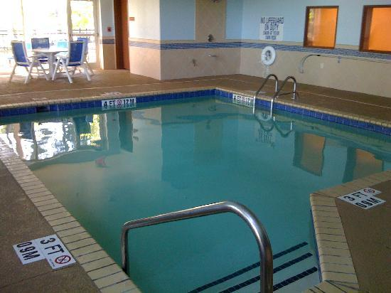 Comfort Suites West of the Ashley: Pool actual size