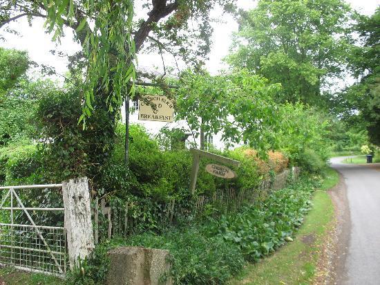 the entrance to Church Farm
