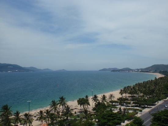 Novotel Nha Trang : ホテル8階からの眺め