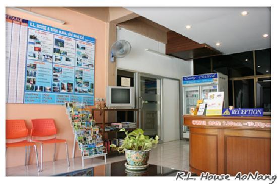 K.L. House AoNang : reception