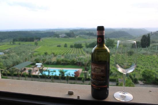 Villa Marcellini: Our Window sill
