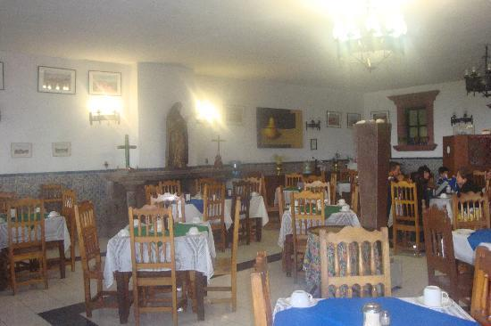 Hotel Posada de las Monjas: delicioso almuerzo con muy buen servicio