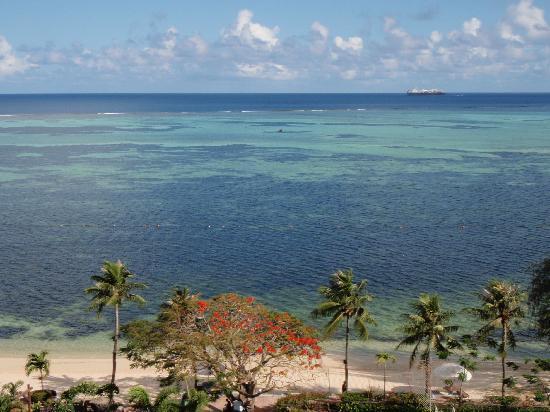Saipan World Resort: 部屋からの眺め