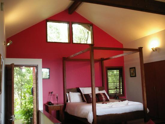 Tamborine Mountain, Australia: Romantic Red Studio
