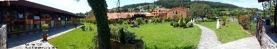 Naveces, Espagne : panorámica del hotel