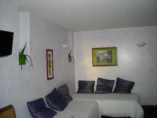Hôtel Le Caritz : la chambre