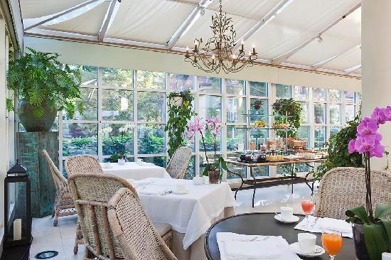 Patrick Hellmann Schlosshotel : Le Jardin Restaurant
