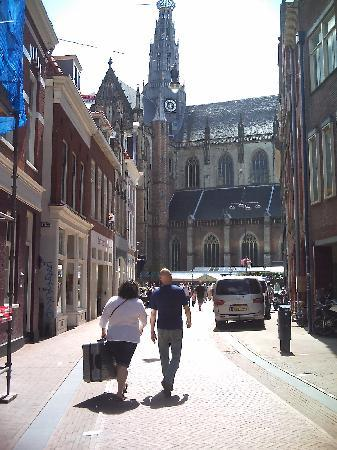 Haarlem, The Netherlands: View of St Bravos from street