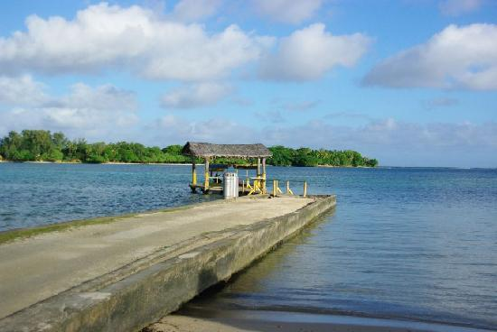 Erakor Island Resort & Spa : View from the Ferry (looking from Efate to Erakor)
