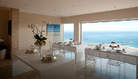 Atlantic Suites Camps Bay: Dining room day