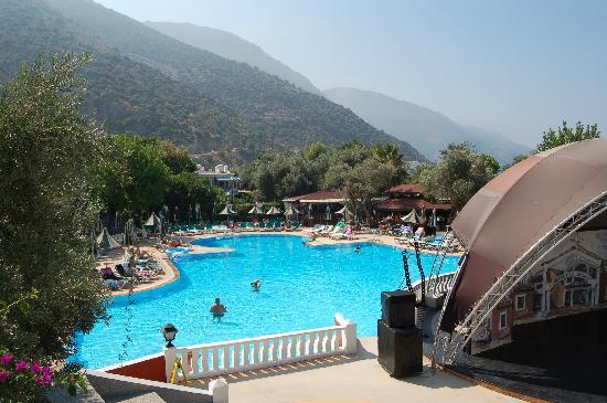 Club Belcekiz Beach Hotel: Pool view