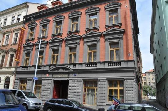 EA Embassy Prague Hotel: Hotel front facade