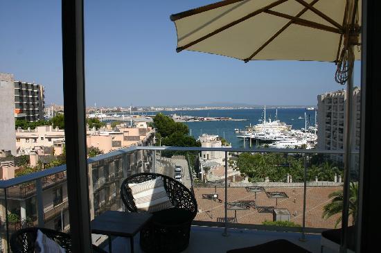 Hotel Feliz: Utsikt från vår balkong