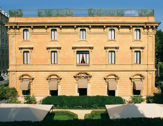 Villa Spalletti Trivelli: Front View - Villa Spalleti Trivelli, Rome, Italy
