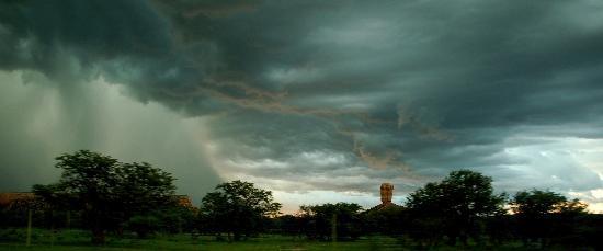 Cloudburst at Vingerklip