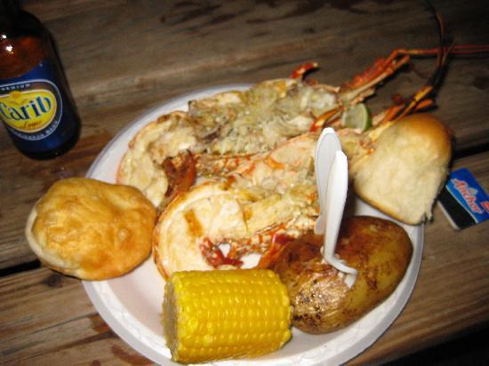 Sprat Net : Lobster, YUM!