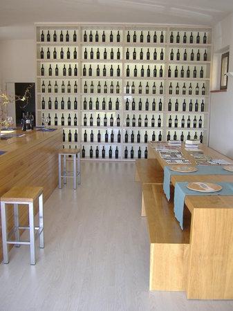 Azienda Agraria Saio: Our winetasting room