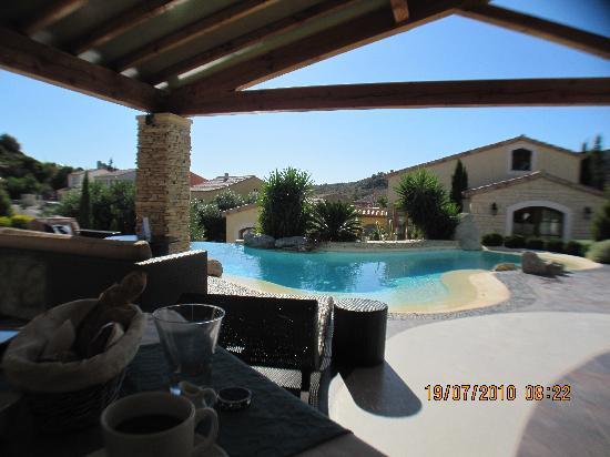 Hotel Troiz : view from breakfast