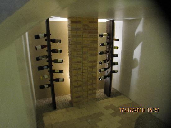 Hotel Troiz : our own wine cellar