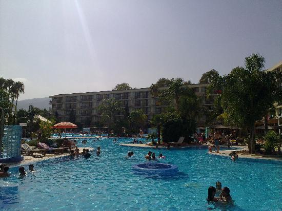 Sol Principe: piscine derriere