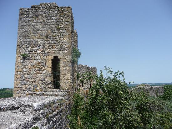 Монтериджиони, Италия: Mächtige Türme und dicke Mauern