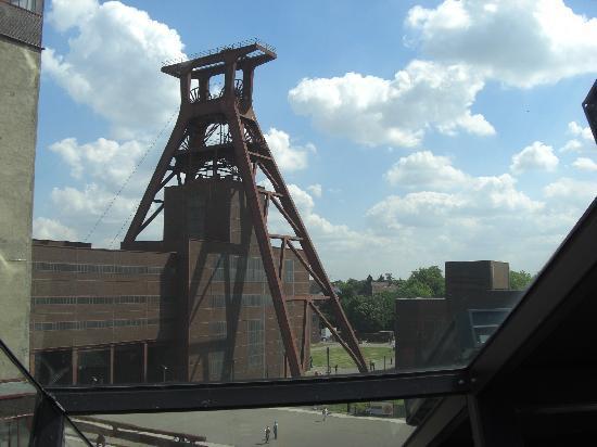 Zeche Zollverein Essen: Von der Rolltreppe aus