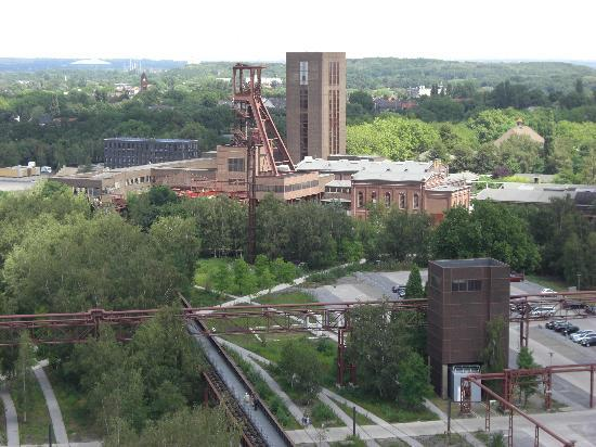 Zeche Zollverein Essen: Aussichtsterrasse 1
