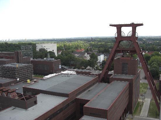 Zeche Zollverein Essen: Aussichtsterrasse 3