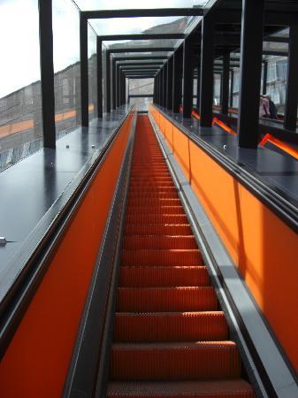 Zeche Zollverein Essen: Die Rolltreppe