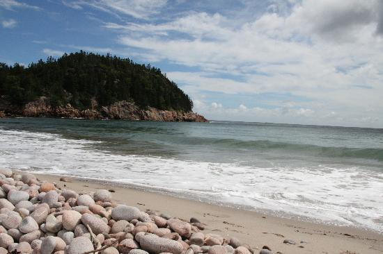 Cape Breton Highlands National Park : Beach in Cape Breton Highlands NP