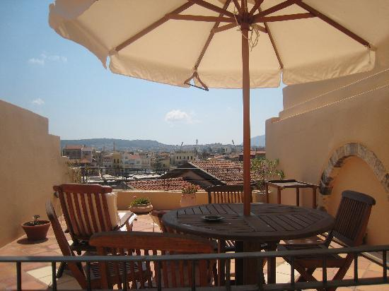 Casa Delfino Hotel & Spa: The Balcony