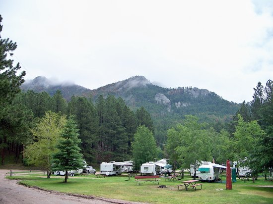 Horse Thief Campground : campground view