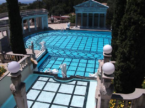 Cambria, CA: Gladiator pool at Hearst Castle