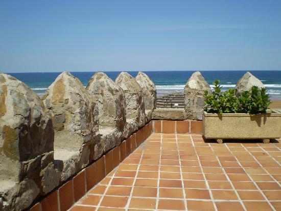 Hotel Karlos Arguinano: Terraza de la suite