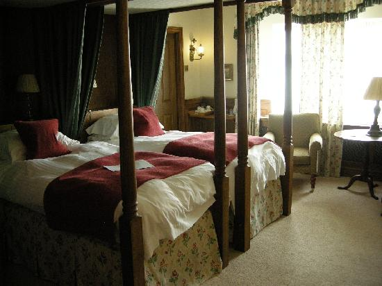 Melton Mowbray, UK: my bedroom at Ragdale - the tower room!