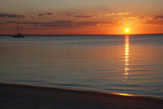 Benguerra Island, โมซัมบิก: Sunset