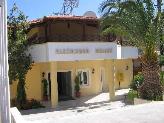 Alexander House Hotel: Haupteingang