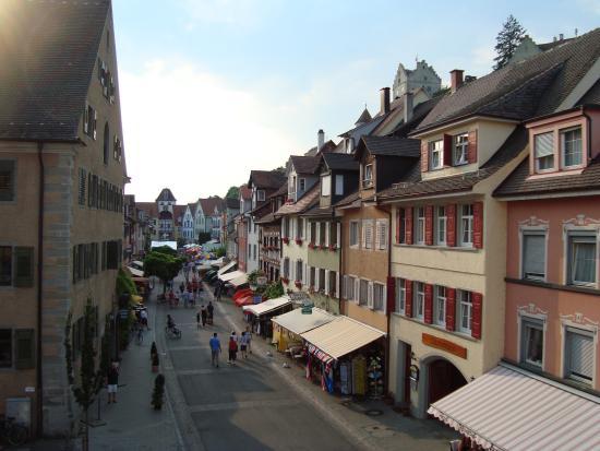 Hotel Seehof : Sicht von unserem Hotelzimmer auf die Unterstadt